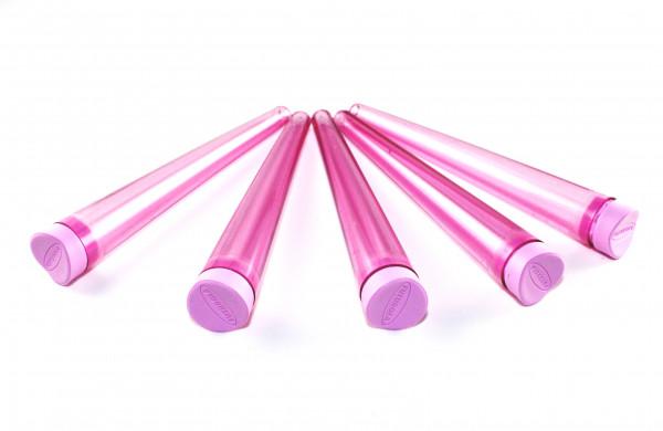 Futurola Cone Tubes Pink im 5er Pack Transparent