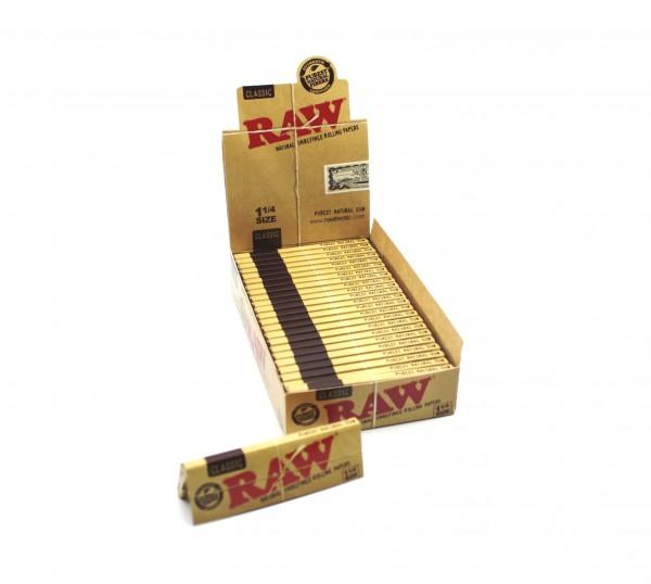 RAW Blättchen Classic 1 1/4 Size Natural Zigarettenpapier