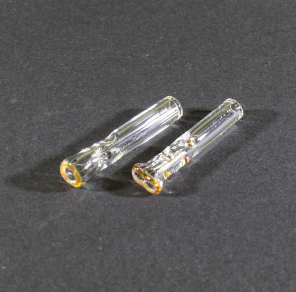 Glas Filter Tips Gold Line 2er Set 7mm