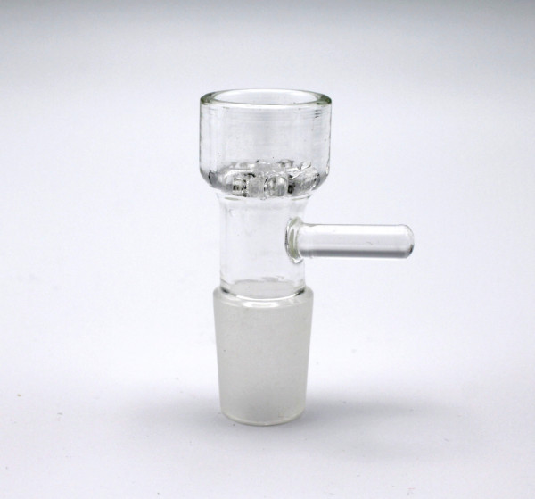 Smokerama Glaskopf mit Glassieb 18,8 Klar