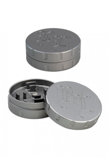 BL Grinder Startrails 62mm Silber 2 Teilig