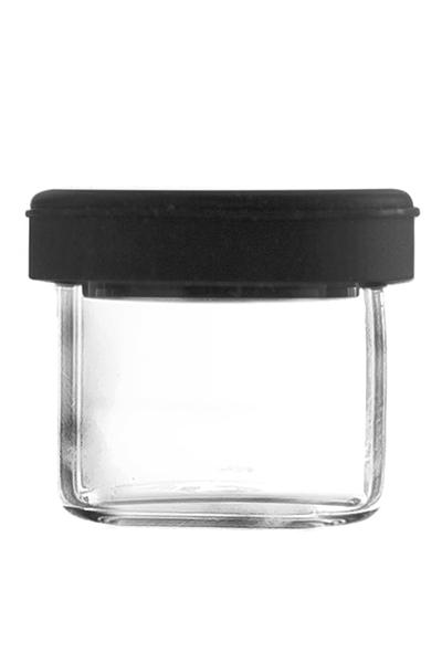 Dabbing Glas mit Silikondeckel 5ml