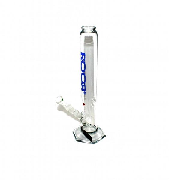 Roor Glasbong 500 Straight Blaue Serie 37cm Höhe