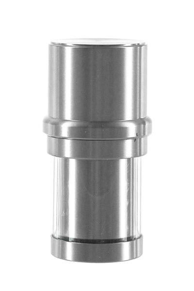 Heisenberg Alu Grinder mit Versteckfach Silber