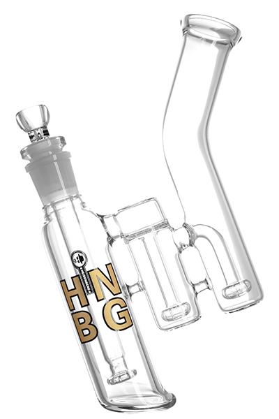 HNBG Gold Triple Double Bubble Glasbong