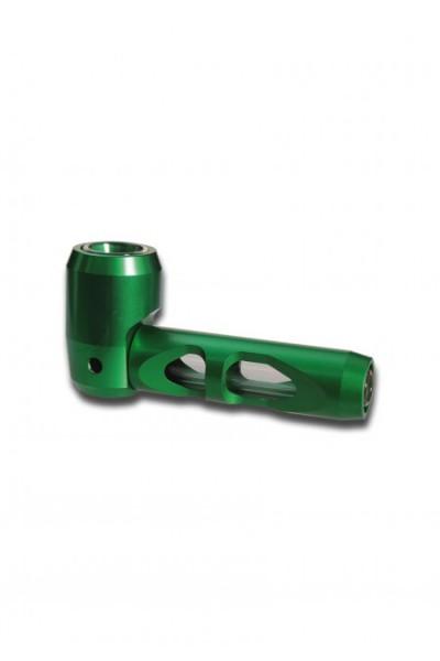 Hammer Pipe Metallpfeife Grün