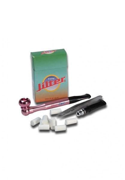 Jilter Pipe 1-Hit Set Pink 85mm Pfeife