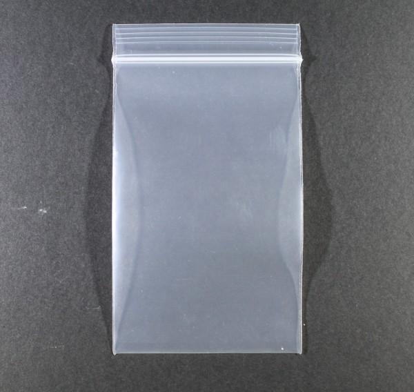 Zip Beutel 80x120mm Klar 1 Stück
