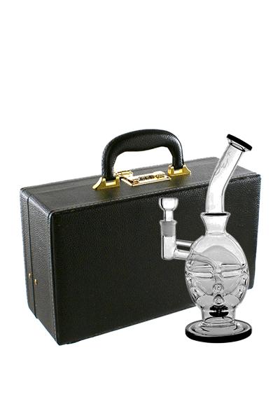 Glasbong Black Druid im Koffer 31cm