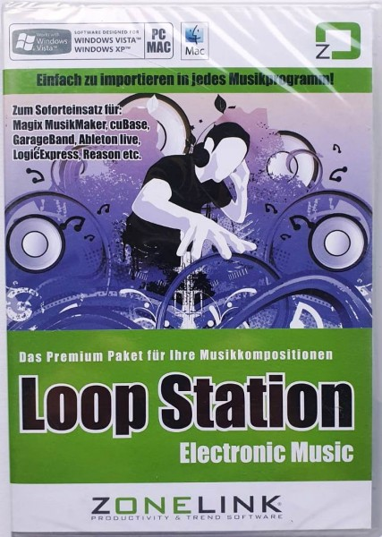 Zonelink Loop Station Electronic Music