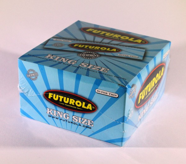 FUTUROLA Blättchen King Size Blau 50er Big Box