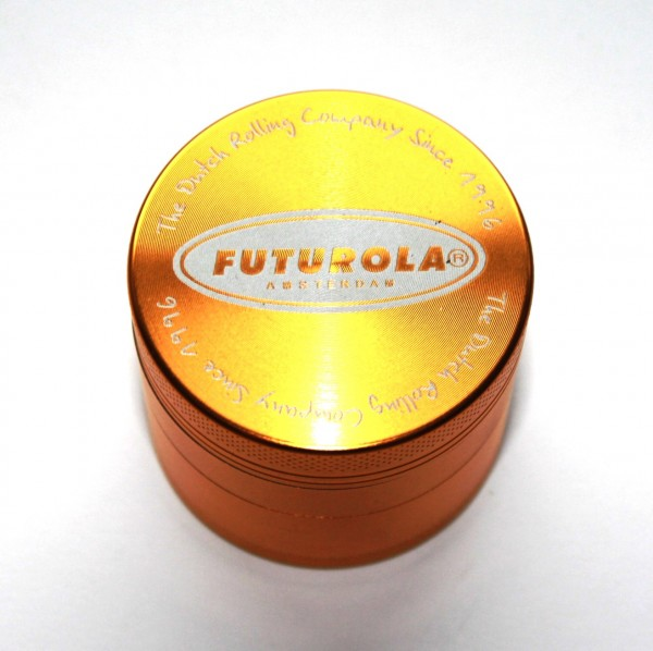 Futurola Alu Grinder 4 Teilig Gold