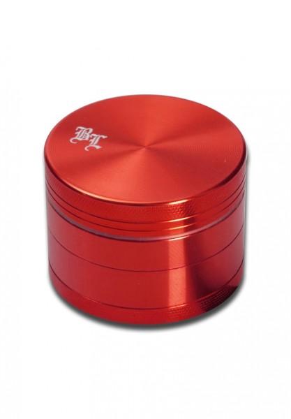 Black Leaf Magnet Grinder 4 teilig Rot