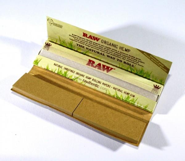 RAW Connoiseur Blättchen mit Filtertips 1 Heftchen