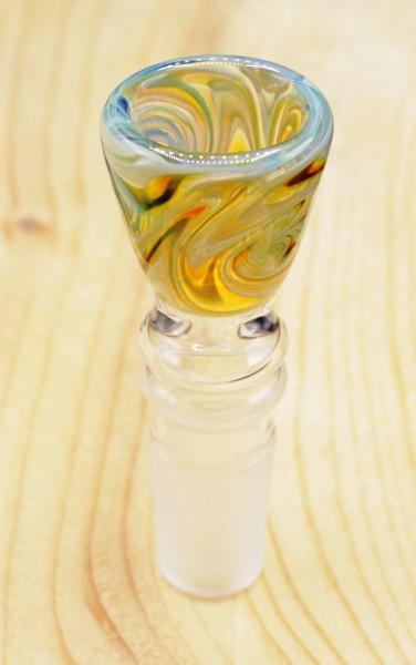 Smokerama Glaskopf Dune 18,8 mm handgearbeitet