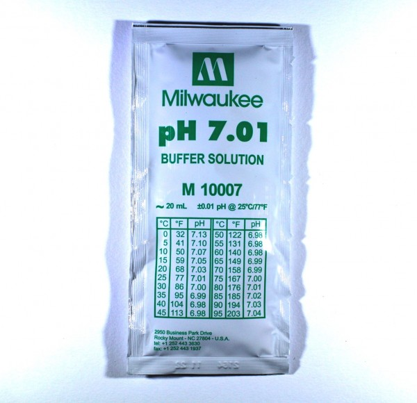 Milwaukee pH Eichlösung 7.01 Pufferlösung 20ml