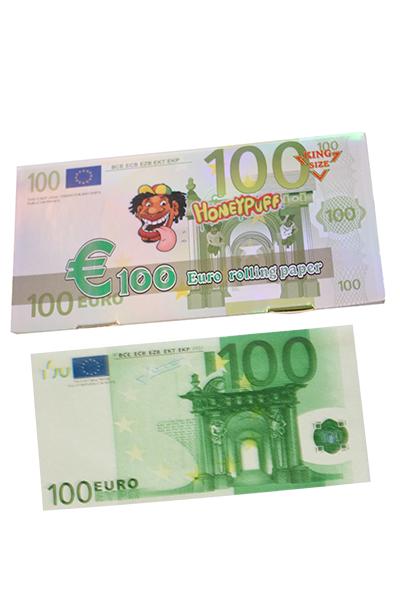 Honeypuff King Size Blättchen 100 EURO Note
