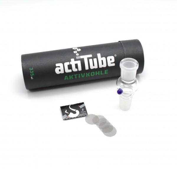 Smokerama Aktivkohle Filter Set 18,8 mm Glas Carbon