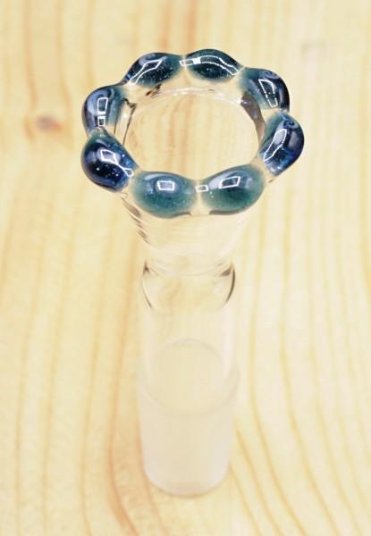 Smokerama Glaskopf Blue King 18,8 mm Schliff handgearbeitet