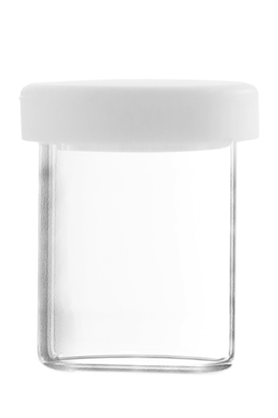 Dabbing Glas mit Silikondeckel 10ml