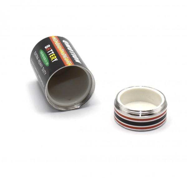 Batterie Versteck Monozelle D Groß aufschraubbar