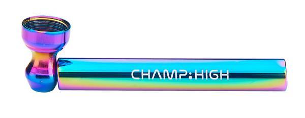 Metall Pur Pfeife Rainbow 95mm