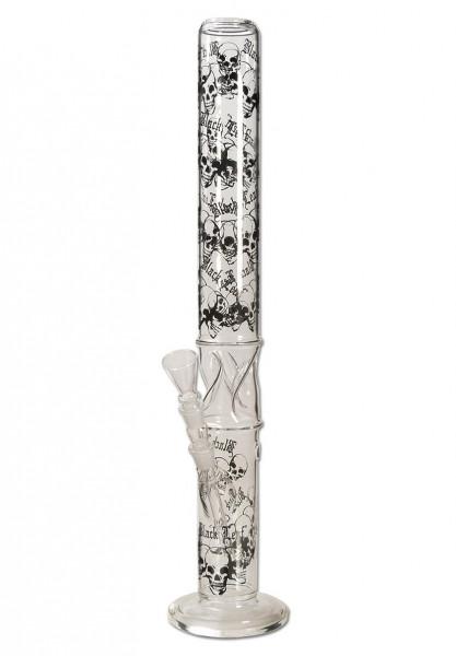 Black Leaf Glasbong Skulls 67 cm mit Eisfach