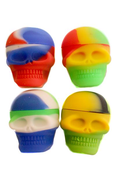 Heisenberg Skull Waxx-Dose aus Silikon