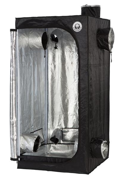 Heisenberg Growzelt 80x80x160 cm Schwarz