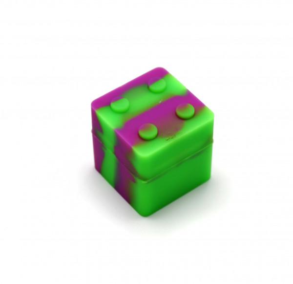 Silikon Container Würfel 3 cm Mehrfarbig
