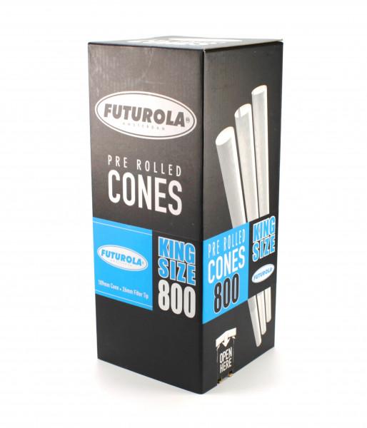Futurola Pre-Rolled King Size Cones 800er Box Classic