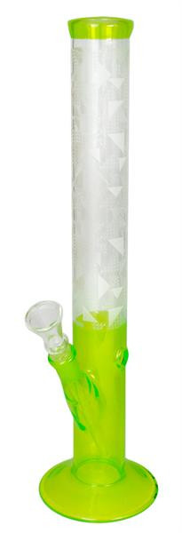 Glasbong Straight Neonline Grün 35 cm