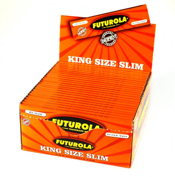 FUTUROLA Blättchen KS Slim Orange 50er Box